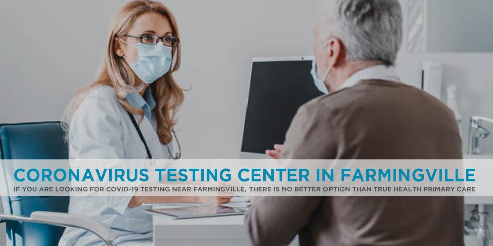 Coronavirus Testing Center in Farmingville